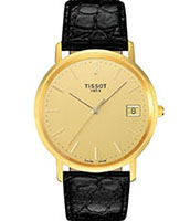 Мужские золотые часы Tissot