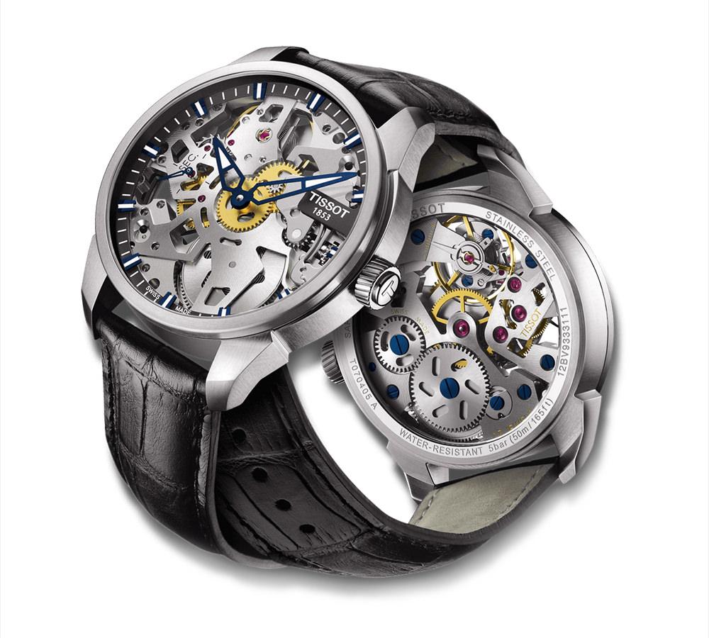 Тиссот часы скелетоны цены купить часы изумруд