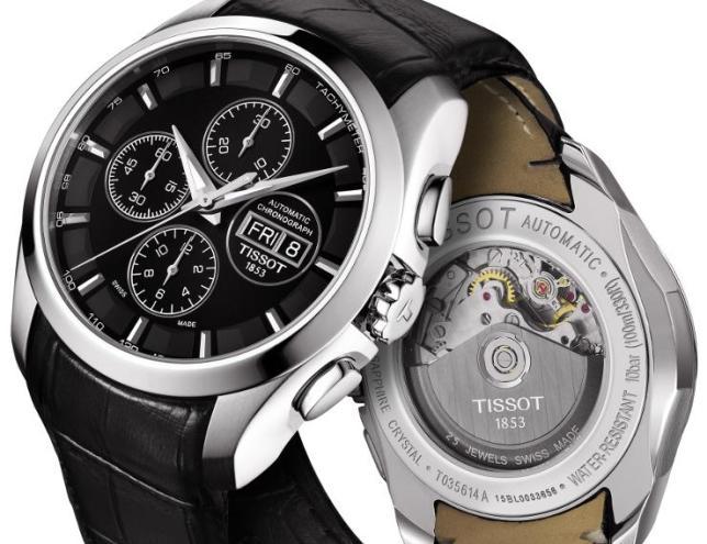 Часы Tissot Couturier Automatic - идеальный выбор на каждый день в ... e12d39fce35