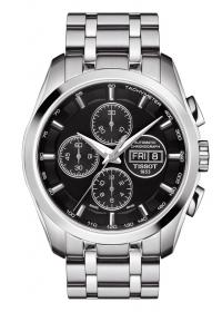 Лаконичный дизайн циферблата говорит сам за себя – часы Tissot t-classic Couturier  Automatic Chronograph можно носить ежедневно, независимо от официальности  ... 69d0529b576